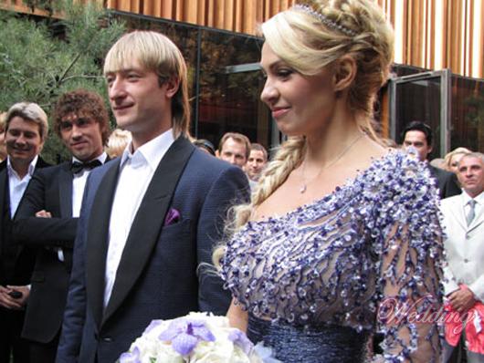 прическа яны рудковской на свадьбе
